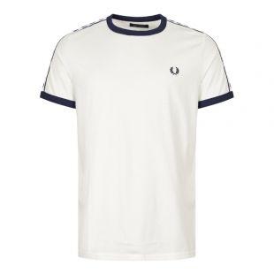 Fred Perry T-Shirt | M6347 B34 White