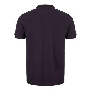 Polo Shirt Sports Tape - Navy