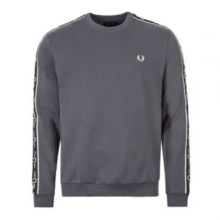 Fred Perry Sweatshirt | M75738 491 Charcoal