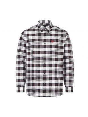 Shirt Oxford Tartan - Black / White