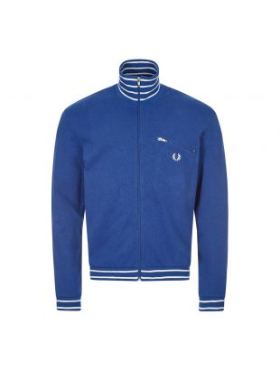 Fred Perry Track Top | J9813 M07 Blue / Stripe