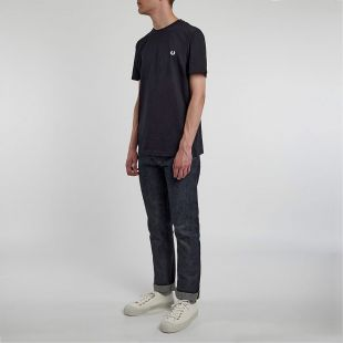 T-Shirt - Navy Crew Neck