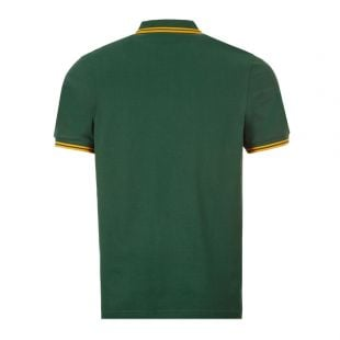 Twin Tipped Polo Shirt – Ivy / Gold