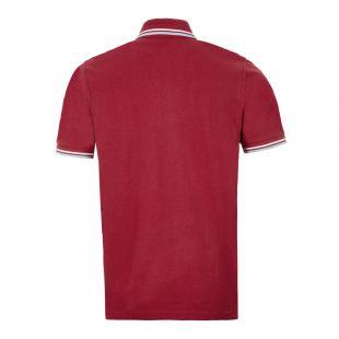 Twin Tipped Polo Shirt – Maroon