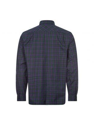Tartan Shirt Winter - Carbon Blue