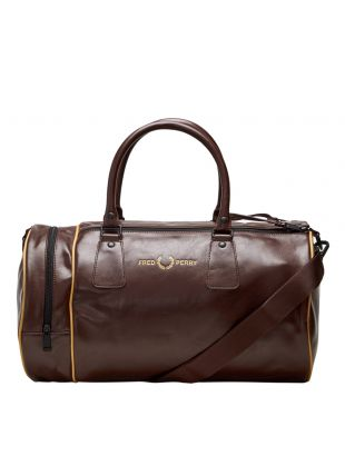 Fred Perry Refined Barrel Bag L9246 D33 Stadium Red Aphrodite 1994