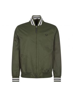Fred Perry Bomber Jacket Tennis | Hunting Green