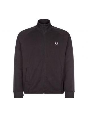 Fred Perry Track Jacket Tonal Tape | Black