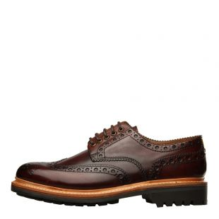 Grenson Archie Commando Brogue 11392 Handpainted Brown