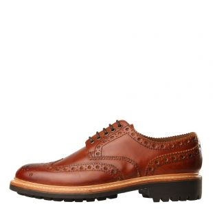 Grenson Archie Brogues | 111391 Tan