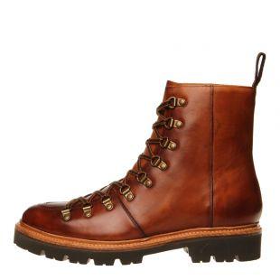 grenson brady ski boots 111833 handpainted tan