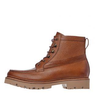 grenson rocco boots 112576 tan