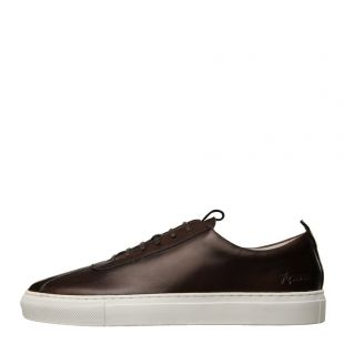 Grenson Sneaker 1 111444 in Dark Brown