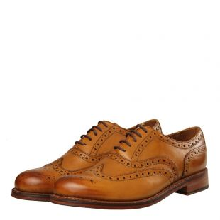Stanley Brogues - Tan