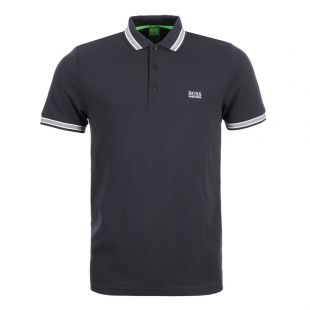 hugo boss paddy polo in navy