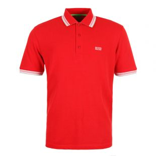 hugo boss paddy polo red 50198254