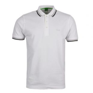 hugo boss paddy polo white 50198254