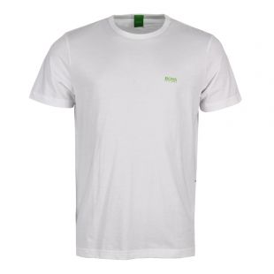 hugo boss t shirt white