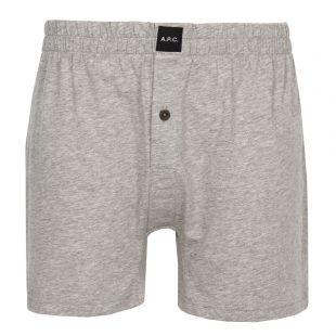 apc boxer shorts cabourg COBMB H18024 PLB grey