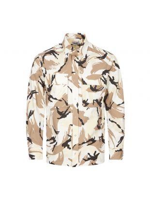 Kenzo Overshirt | PFB55CH5021PC 02 Camo / Off-White | Aphrodite