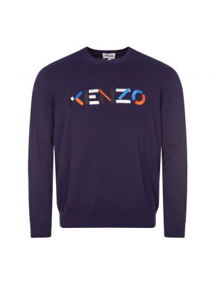 Kenzo Sweater | PFB55PU5413LA 76 Navy | Aphrodite