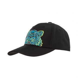 Kenzo Cap Logo | F855AC301F20 99D Black | Aphrodite Clothing