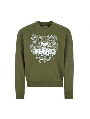 Kenzo Sweatshirt | FB55SW1104XA 51 Dark Khaki | Aphrodite