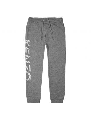 kenzo sweatpants logo F005PA7164MD 98 grey melange