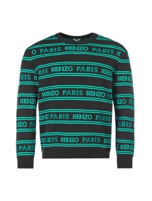 Jumper – Black / Green