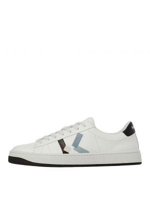 Kenzo K Logo Sneakers | FA65SN172L50 62 White | Aphrodite
