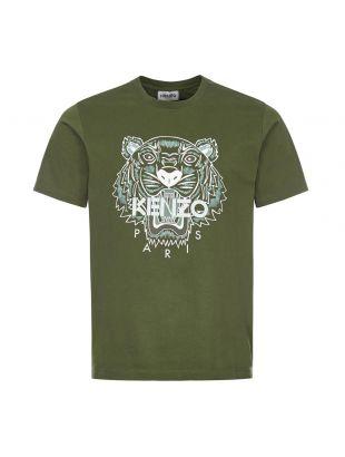 Kenzo Tiger T-Shirt | FB55TS0204YA 51 Dark Khaki