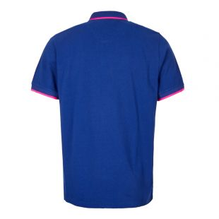 Polo Shirt Tiger – Blue / Pink