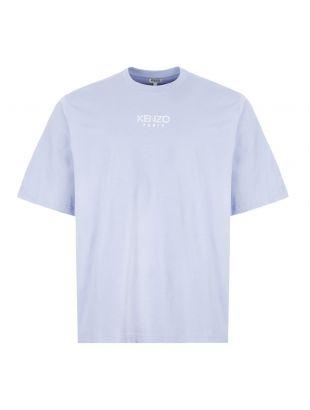 kenzo t-shirt oversized | FA55TS5024AB 65 blue / lilac