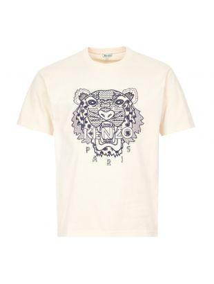 kenzo t-shirt logo FA55TS0854YK 03 ecru