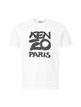 kenzo t-shirt | FA557S0184SA 01 white
