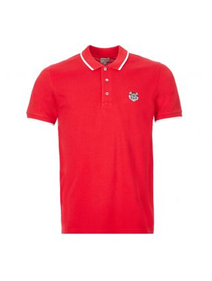 Polo Shirt Tiger - Red