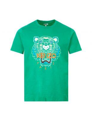 Kenzo T-Shirt | Green / Orange FA55TS0504YA 58 | Aphrodite