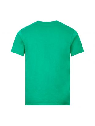 T-Shirt - Green / Orange