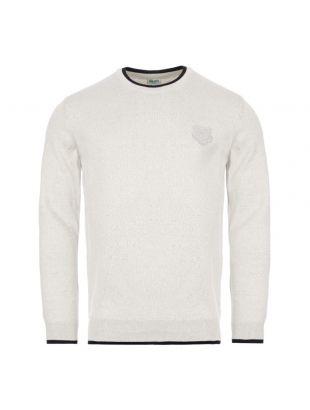 kenzo sweatshirt tiger crest | FA55PU2023AB 94 grey