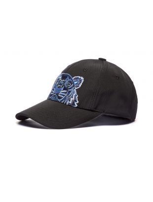 Kenzo Cap Tiger Logo | Black | Aphrodite