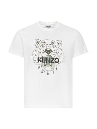 Kenzo Tiger T-Shirt | PFB55TS0204YA 01B Off White