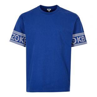 Kenzo T-Shirt   F565TS0434BD 74 French Blue