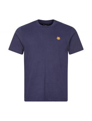 kenzo t-shirt tiger crest navy