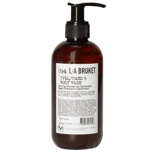 L:A Bruket Body Wash in No094 Sage Rosemary Lavender.