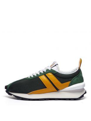 Lanvin Running Sneakers Bumpr | FM SKBRUC DRA1 P21 4480 Green / Gold