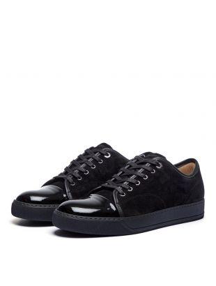 Cap Toe Sneakers - Black