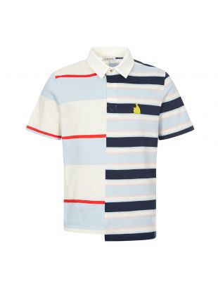 Lanvin Rugby Patchwork Polo Shirt | Multi