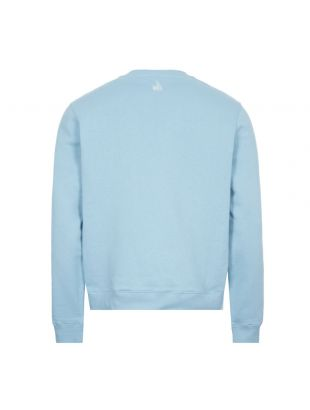 Printed Sweatshirt - Blue