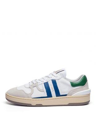 Lanvin Tennis Low Top Sneakers | FM SKDK00 NASH A20 0020 White / Blue / Green