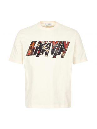 Lanvin T-Shirt Logo | Cream | Aphrodite